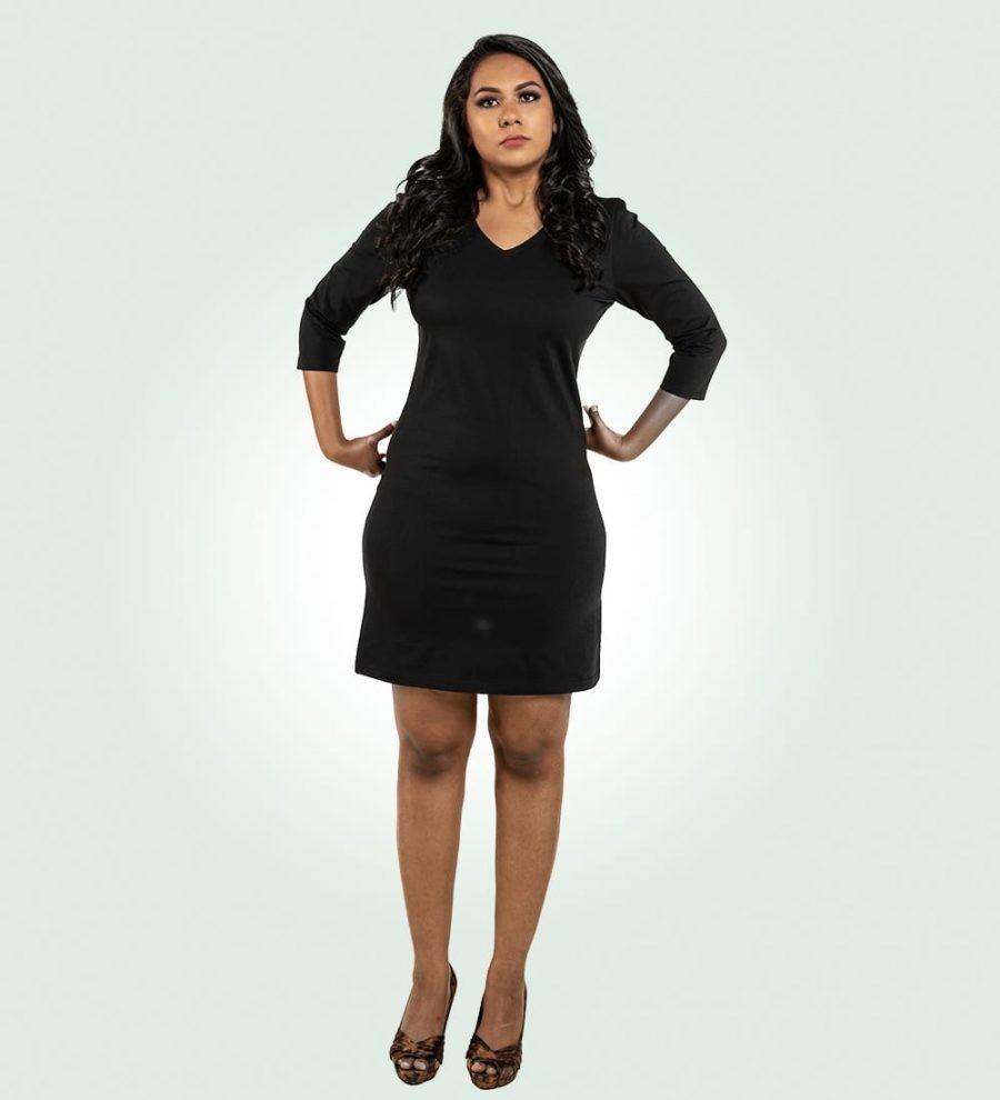 Supima Bodycon Dress For Supreme Comfort